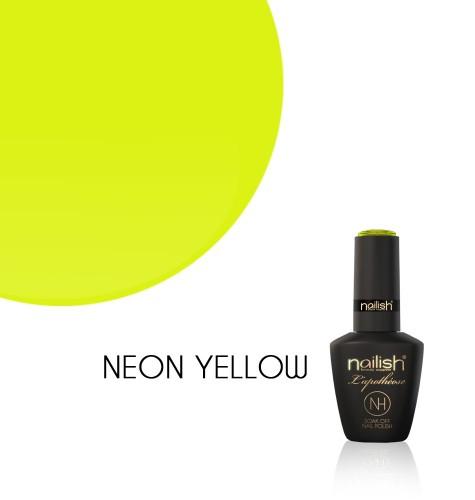 Oja Semipermanenta Neon Yellow, Oje Semipermanente Neon