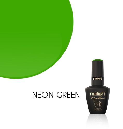 Oja Semipermanenta Neon Green, Oje Semipermanente Neon