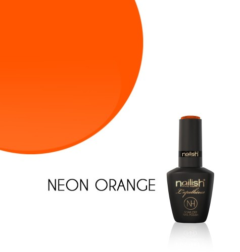 Oja Semipermanenta Neon Orange, Oje Semipermanente Neon