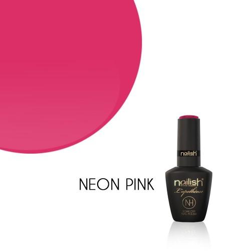 Oja Semipermanenta Neon Pink, Oje Semipermanente Neon