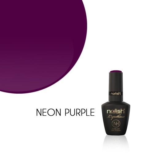 Oja Semipermanenta Neon Purple, Oje Semipermanente Neon