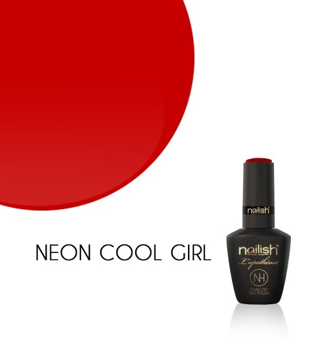 Oja Semipermanenta Neon Cool Girl, Oje Semipermanente Neon