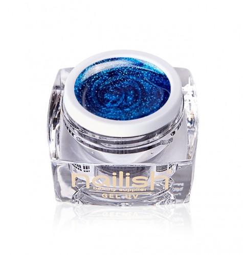Gel Glitter Sparkling Blue, Gel Glitter Metallic Fig