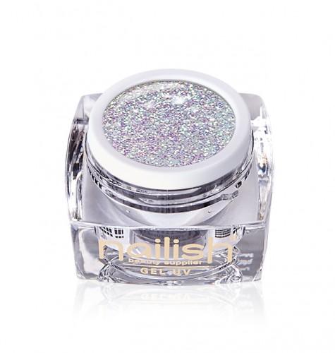 Gel Glitter Crystal Unicorn, Gel Glitter Crystal Joy UV LED Manichiura Unghii