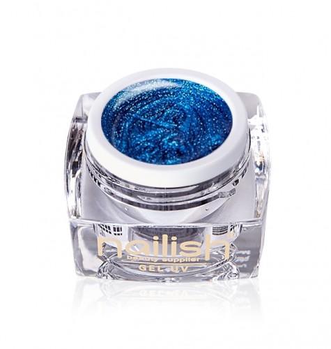 Gel Glitter Daring Blue, Gel Glitter Sparkling Diamond UV LED Manichiura Unghii