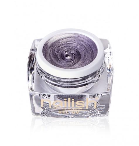 Gel Glitter Pearly Fresh Lila, Gel Glitter Sparkling Diamond UV LED Manichiura Unghii