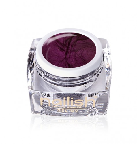 Gel Glitter Met Sweet Purple, Gel Glitter Crystal Joy UV LED Manichiura Unghii