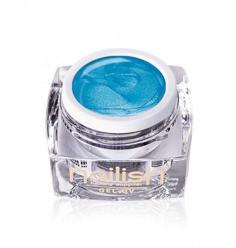 Gel Glitter Blue Sky Fine, Gel Glitter Turquoise