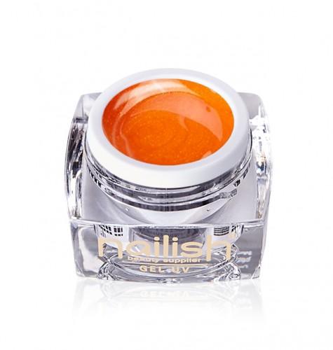 Gel Glitter Orange Fine, Gel Glitter Milky
