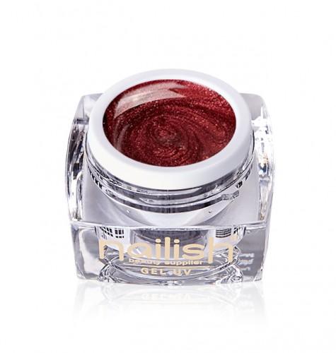 Gel Glitter Red Treasure, Gel Glitter Metallic Fig