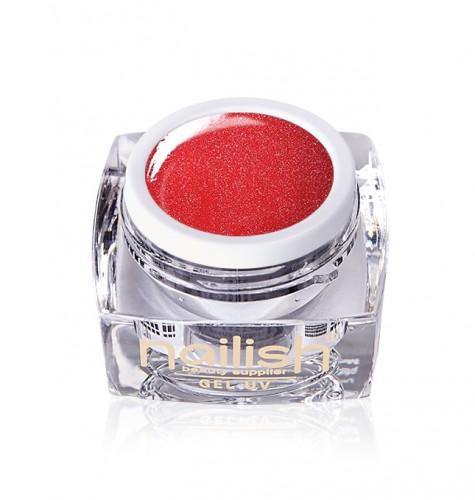 Gel Glitter Little Red Dress, Gel Glitter Crystal Joy UV LED Manichiura Unghii