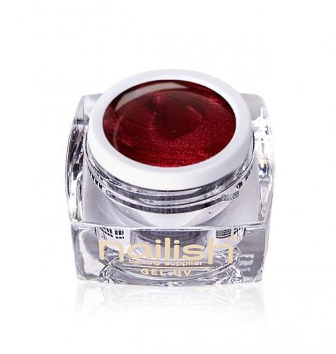 Gel Glitter Red Lady, Gel Glitter Crystal Joy UV LED Manichiura Unghii