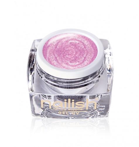 Gel Glitter Perlat Metallic Light Pink, Gel Glitter Turquoise