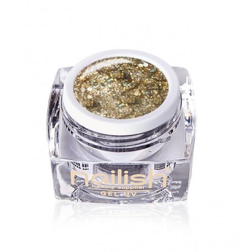 Gel Glitter Crystal Queen, Gel Glitter Milky