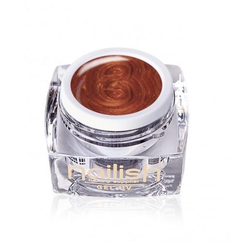 Gel Paint Copper, Gel Paint Art Style Natural UV LED Manichiura Unghii