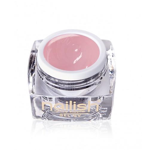 Gel Paint Light Rose, Gel Paint Art Style Natural UV LED Manichiura Unghii