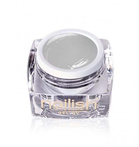 Gel Paint Light Gray, Gel Paint Art Style Natural UV LED Manichiura Unghii