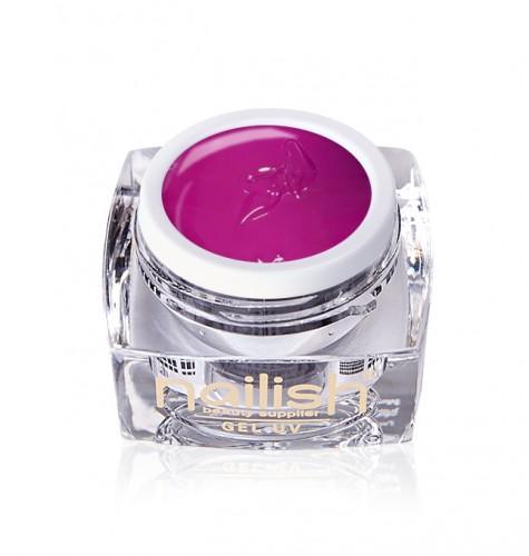 Gel Paint Fushia, Gel Paint Art Style Natural UV LED Manichiura Unghii