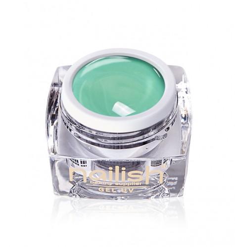 Gel Paint Green Art, Gel Paint Art Style Natural UV LED Manichiura Unghii