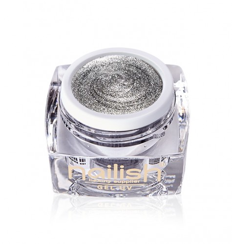 Gel Paint Van Silver, Gel Paint Nude Art UV LED Manichiura Unghii