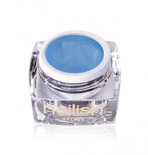 Gel Paint Blue Sky, Gel Paint Art Style Natural UV LED Manichiura Unghii