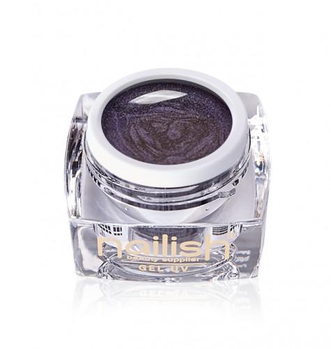 Gel Cat Eye Lila, Gel Cat Eye Brown UV LED Manichiura Unghii