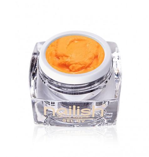 Gel Plastart Orange, Nail Art