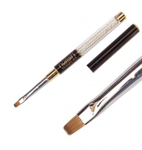 Pensula Gel Straight 4 Cu Varf Drept, Echipamente Si Accesorii
