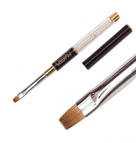 Pensula Gel Straight 6 Cu Varf Drept, Echipamente Si Accesorii