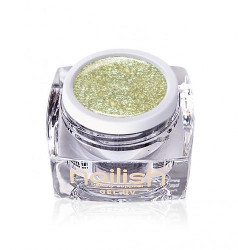 Gel Glitter Luxurious Gold, Gel Glitter, Geluiri Glitter, Gel Uv Glitter