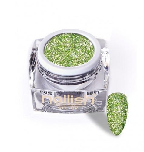 Gel Glitter Luxury Green Garnet, Gel Glitter Sparkling Diamond UV LED Manichiura Unghii