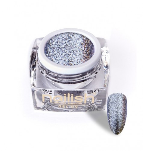 Gel Glitter Luxury Dusty Lila, Gel Glitter Sparkling Diamond UV LED Manichiura Unghii