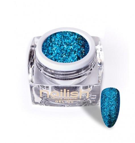 Gel Glitter Luxury Ocean, Gel Glitter Sparkling Diamond UV LED Manichiura Unghii