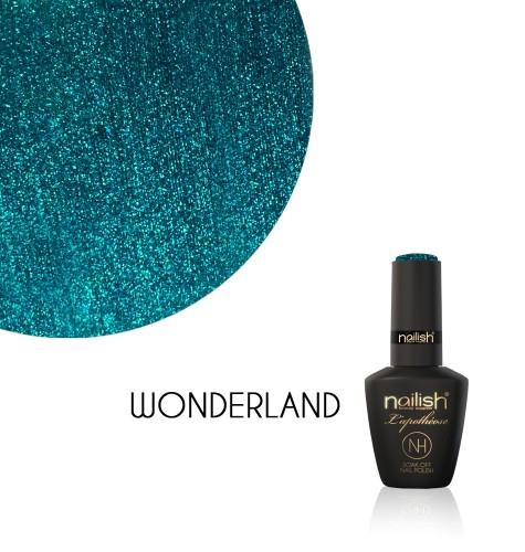 Oja Semipermanenta Glitter Wonderland, Oja Semipermanenta Glitter Blueberry Star