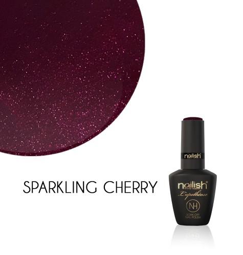 Oja Semipermanenta Glitter Sparkling Cherry, Oja Semipermanenta Glitter Blueberry Star