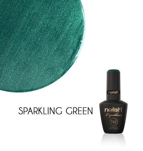 Oja Semipermanenta Glitter Sparkling Green, Oja Semipermanenta Glitter Blueberry Star