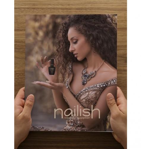 Mapa Nailish documente, Gel Make Up Builder Thick Rose 50ML