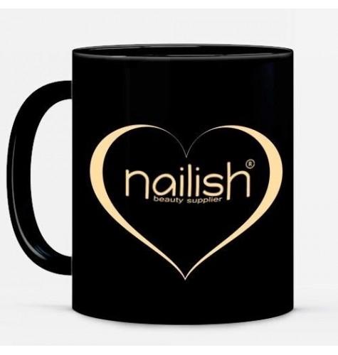 Cana (Mug) Nailish Neagra, Gel Glitter Sparkling Wine UV LED Manichiura Unghii
